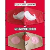 Talking Tables Schutzmaske Baumwolle mit Filterfach Partytime assorti
