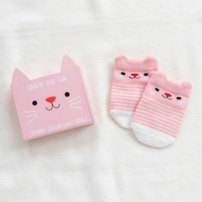 Rex London Baby socks Cookie the Cat