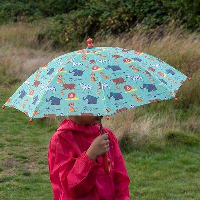 Rex London Kinder-Regenschirm  Animal Park