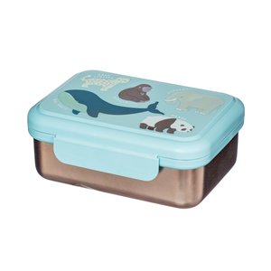 Sass & Belle Lunch box stainless steel Endangared Animals