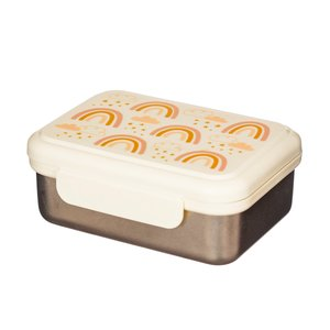 Sass & Belle Lunch box stainless steel Earth Rainbow