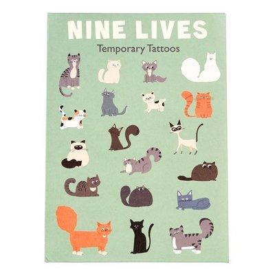Rex London Tattoos Nine Lives