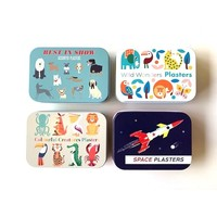 Rex London MIX Plaster in a box Coulourful Creatures/BesinShow/WildWonders/SpaceAge