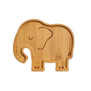 Sass & Belle Bamboo Plate Elephant