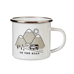 Sass & Belle Mug Enamel On the Road