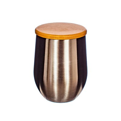 Sass & Belle Cup Stainless Steal with Bamboo Lid
