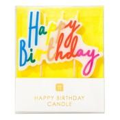 Talking Tables Birthday Candles Rainbow Brights