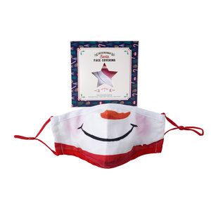 CGB Giftware Face Mask Cotton with filter pocket Snowman