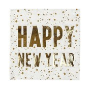 Talking Tables Paper Napkins Luxe Happy New Year