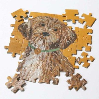 Talking Tables Puzzle doppelseitig Dog Pooch
