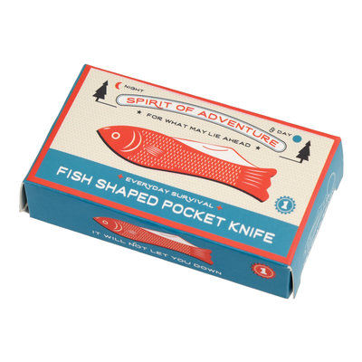 Rex London Pocket Knife and Keyring Fish