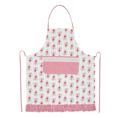 Clayre & Eef Kitchen apron Garden of Roses