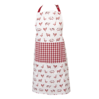 Clayre & Eef Kitchen apron Country Life Animals