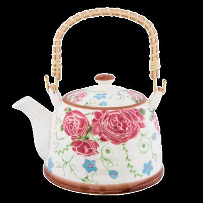 Clayre & Eef Teapot Roses