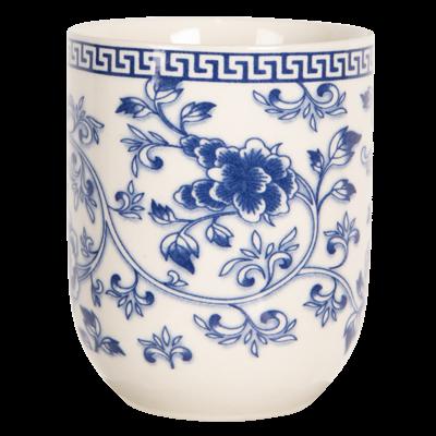 Clayre & Eef Mug Chinese Flowers blue