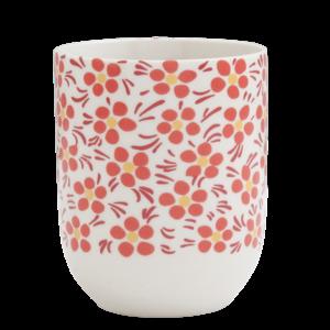 Clayre & Eef Mug Daisies red