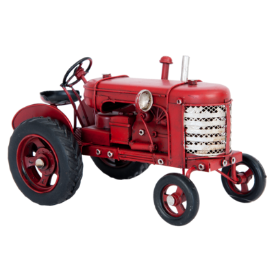 Clayre & Eef Modell Classic Tractor red