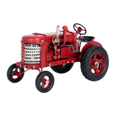 Clayre & Eef Model Classic Tractor red