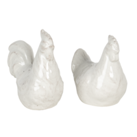 Clayre & Eef Salt and Pepper Set Chickens