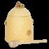 Clayre & Eef Honey jar with spoon of bees