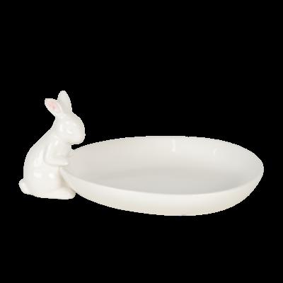 Clayre & Eef Bowl Rabbit