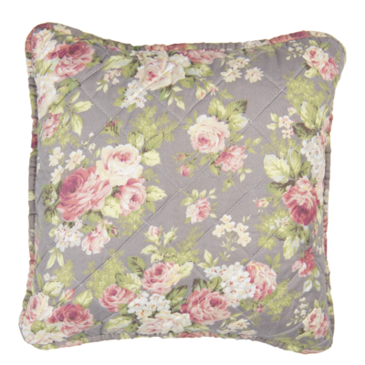 Clayre & Eef Cushion cover Roses pigeon