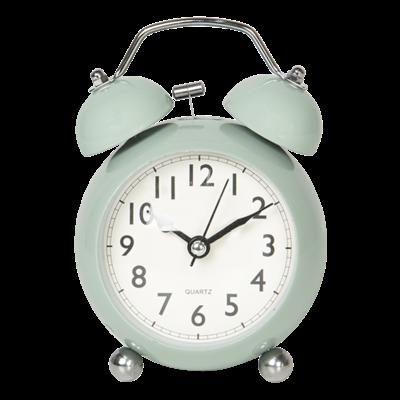 Clayre & Eef Alarm Clock Classic duck egg