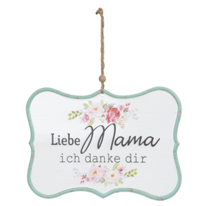 Clayre & Eef Quote Board Liebe Mama