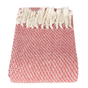 Clayre & Eef Plaid Pearl creme/red