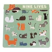 Rex London Stickers Nine Lives