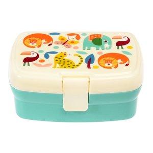 Rex London Lunchbox mit Fach Wild Wonders