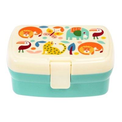 Rex London Lunchbox mit Fach Wild Womders