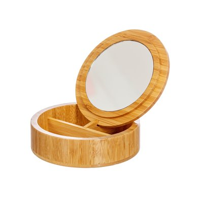 Sass & Belle Jewellery box  Bamboo round