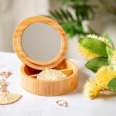 Sass & Belle Schmuckkästchen  Bamboo round