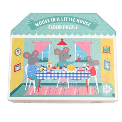 Rex London Floor Puzzle Mouse in a House