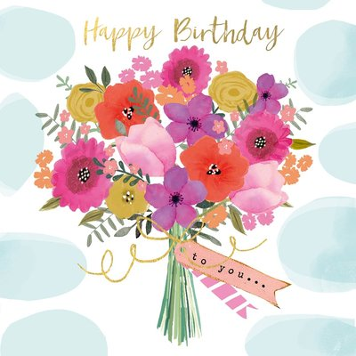 Paperproducts Design Papierservietten Happy Flowers small