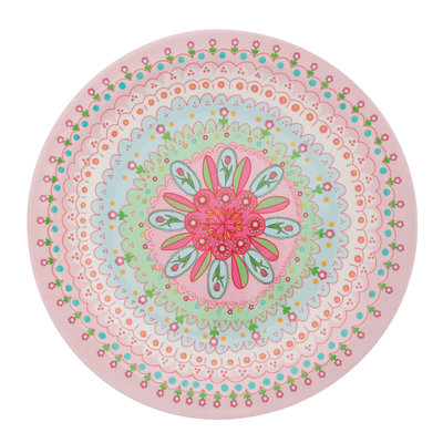 Overbeck and Friends Melamine plate Flora large