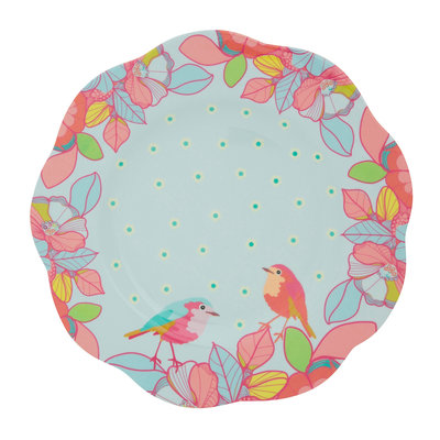 Overbeck and Friends Melamine plate Ella large