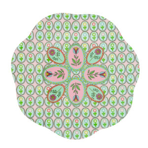 Overbeck and Friends Melamine plate Flora small