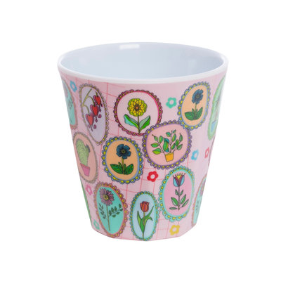 Overbeck and Friends Melamine cup Flora 1