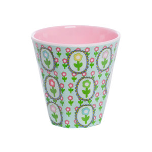 Overbeck and Friends Melamine cup Flora 2