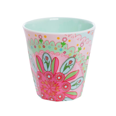 Overbeck and Friends Melamine cup Flora 3