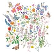Paperproducts Design Paper Napkins Nature Romance