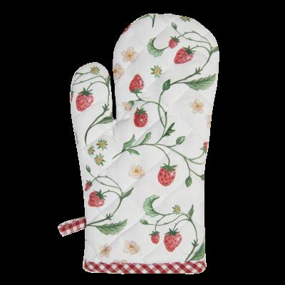 Clayre & Eef Ofenhandschuh Wild Strawberry