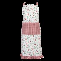 Clayre & Eef Kitchen apron Wild Strawberry