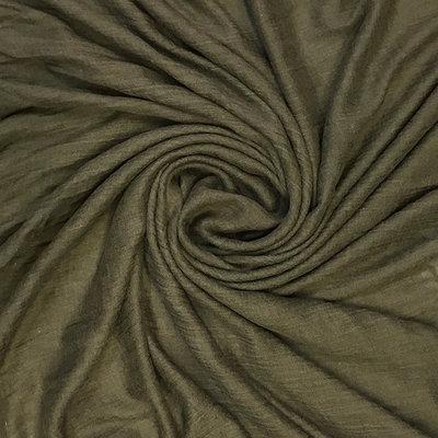 Pure & Cozy Schal Cotton/Wool dark khaki