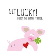 Paperproducts Design Paper Napkins Get Lucky