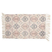 Clayre & Eef Rug Lilly pink/denim