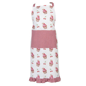 Clayre & Eef Kitchen apron Cup Cakes