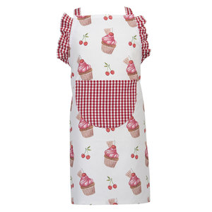 Clayre & Eef Kids apron Cup Cakes